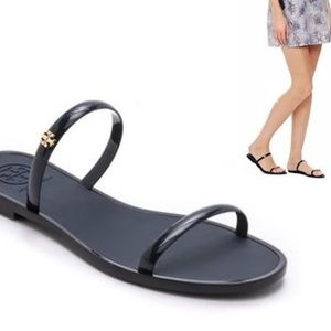 Tory Burch Two Band Jelly Sandals
